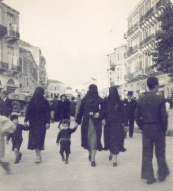Beirut. Almost all women wore a veil